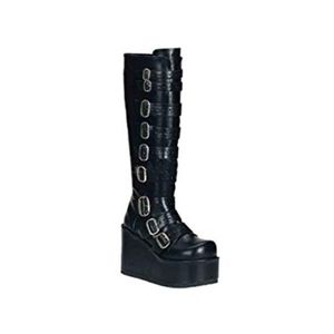 Demonia Concord Knee High Boots ~ Size 9